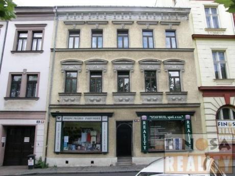 Kanceláře v centru Ústí nad Labem, ulice Vaníčkova.