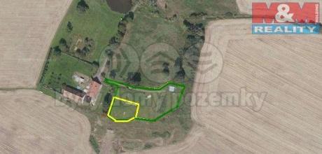 Prodej, trvalý travní porost, 2164 m2, Horní Ves, Třebeň