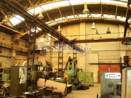 Pronájem výrobních hal 300 m2, 570 m2, 815 m2 a 785 m2 v areálu bývalé Poldi - Kladno