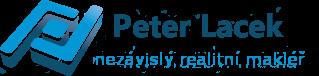 logo Peter Lacek - privátní realitní makléř