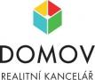 Logo Domov - realitní kancelář v.o.s.