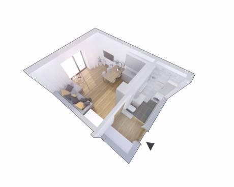 Prodej bytu 1+kk, 33 m²