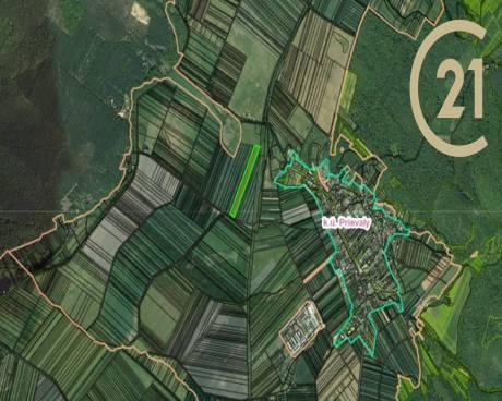 Prodej, zemědělská půda, Prievaly, Slovensko, 32564 m²