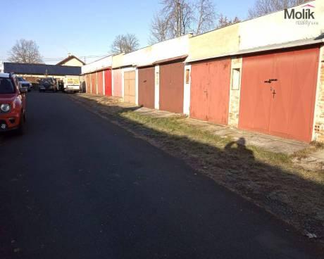 Prodej garáže, OV, 20 m2, Františkovy Lázně - Horní Lomany, ul. Budovatelská
