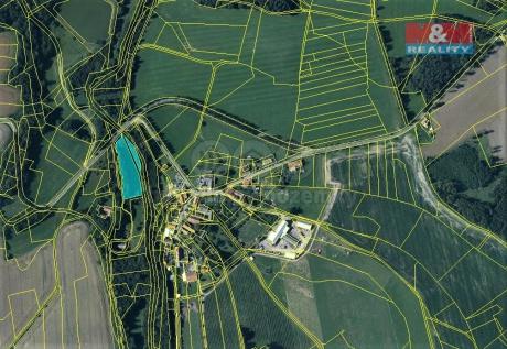 Prodej louky a lesa, 4473 m², Proseč-Miřetín