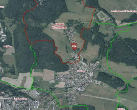 Prodej pozemku vhodného k investici - k.ú. Chuderovec, obec Chuderov