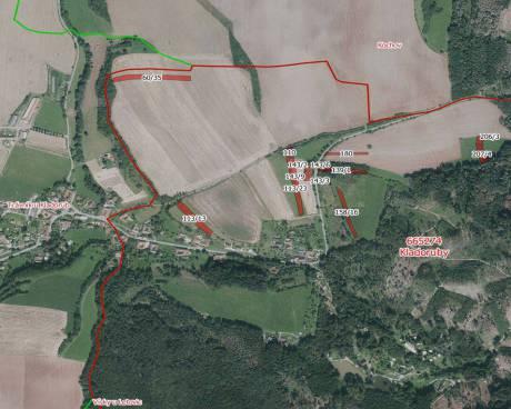 Aukce zemědělských pozemků - k.ú. Kladoruby, obec Letovice